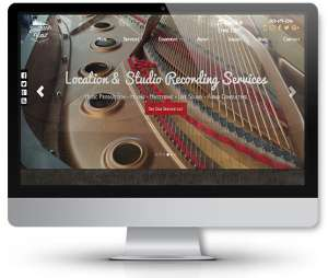 web-design-for-music-company