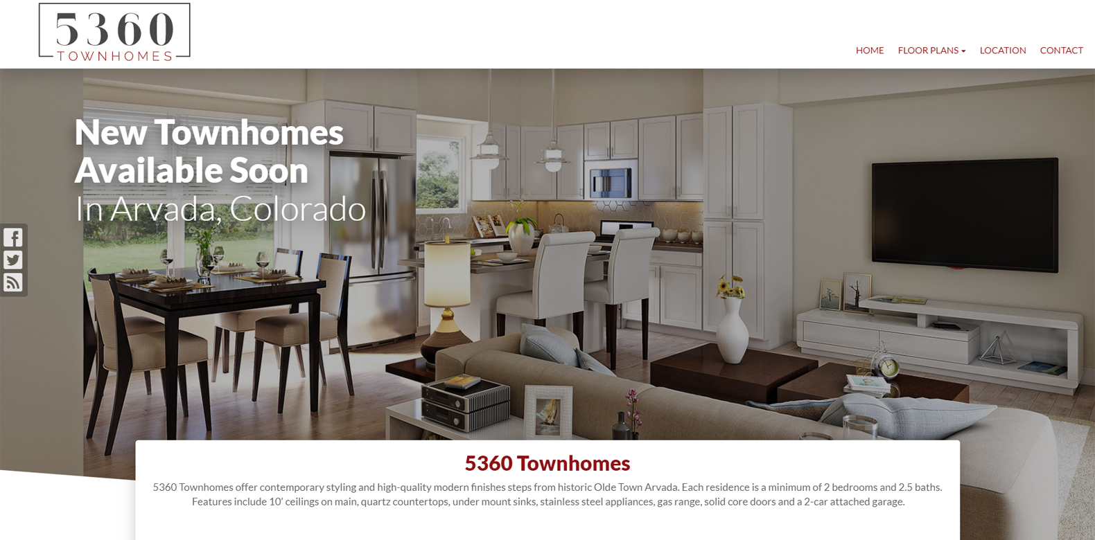 New Website Launch: 5360 Townhomes