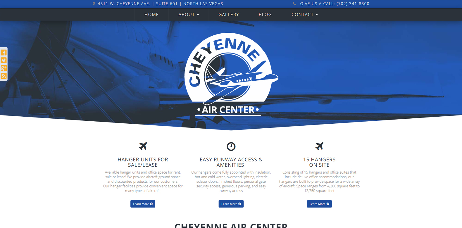 New Website Launch: Cheyenne Air Center