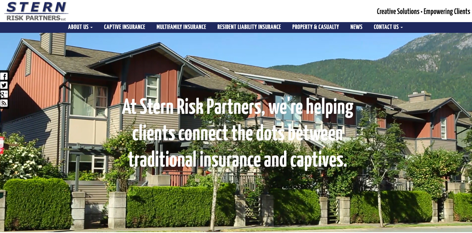 New Website Launch: Stern Risk Partners