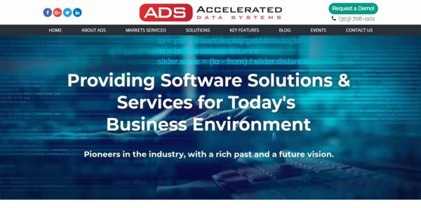 New Website Launch: Accelerated Data Systems