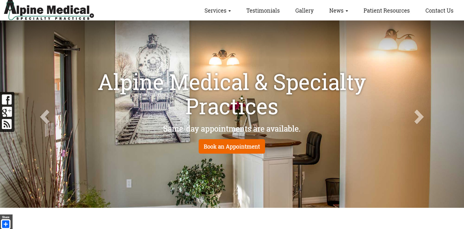 New Website Launch: Alpine Medical Spa