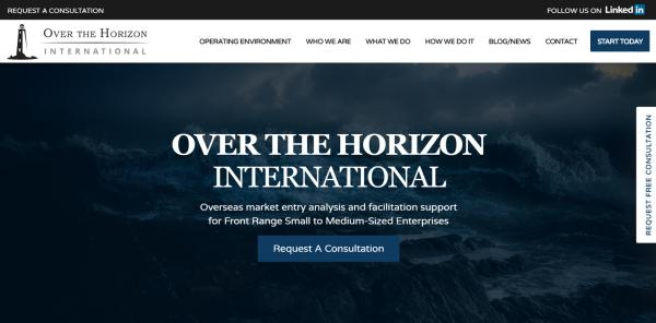 New Website Launch: Over the Horizon International